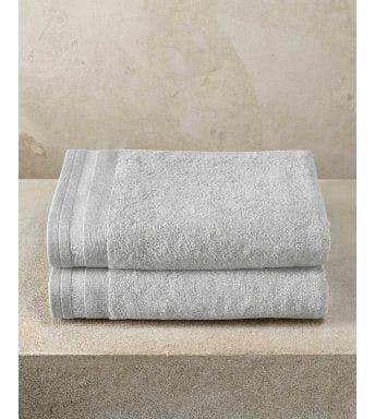 De Witte Lietaer handdoek Contessa silver