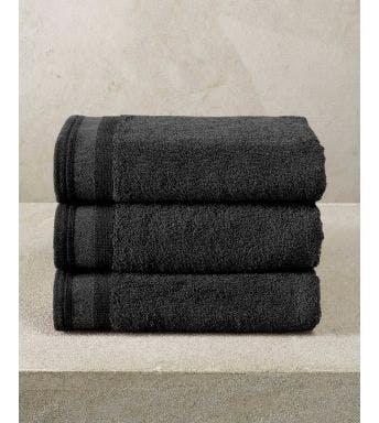 De Witte Lietaer handdoek Contessa black