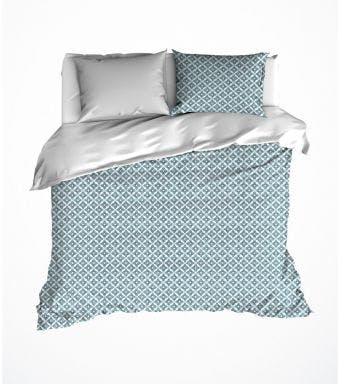 De Witte Lietaer dekbedovertrek Azulejos Katoensatijn