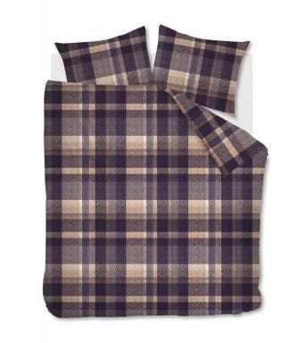 Beddinghouse dekbedovertrek Joss grey flanel