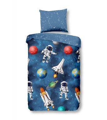 Good Morning dekbedovertrek Space flanel