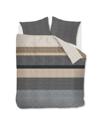 Dekbedovertrek housse de couette Beddinghouse Marne_Grey 2 persoons