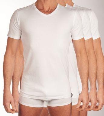 Diesel T-shirt V-hals hals 3 pack Michael H