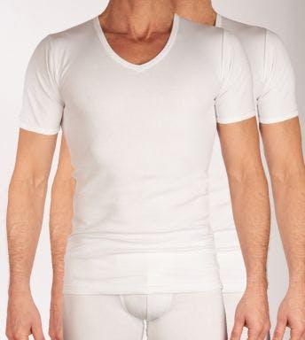 Dulcia T-shirt V-hals 2 pack Sensitive H