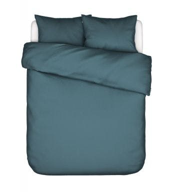 Essenza dekbedovertrek Minte Duvet cover Denim Katoensatijn