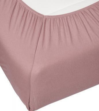 Essenza hoeslaken Premium Jersey Fitted sheet Woodrose Katoen