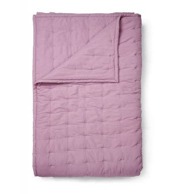 Essenza plaid Ruth Quilt Grape Microvezel