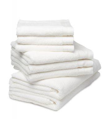 De Witte Lietaer 8-delige handdoekenset Contessa vanilla