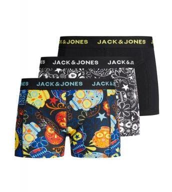 Jack & Jones short 3 pack Jacsugar Skull J