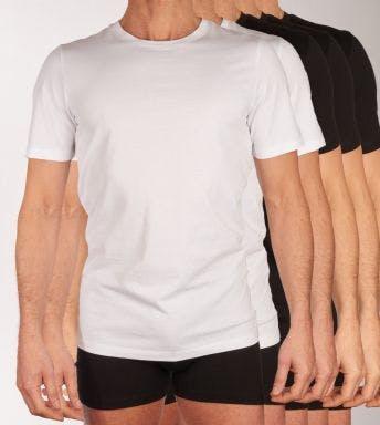 Jack & Jones homewear top 5 pack Jjeorganic H