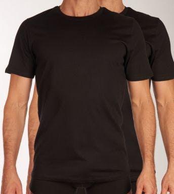 Jack & Jones T-shirt ronde hals 2 pack Jacbasic Tee H