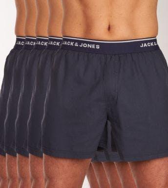 Jack & Jones wijde boxershort 5 pack Jacmick Woven Trunks H