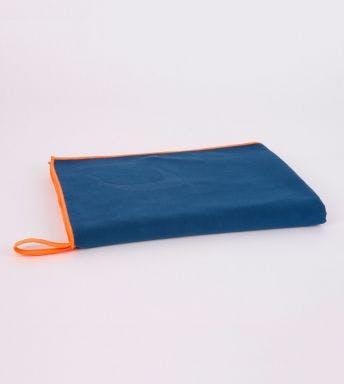 Jules Clarysse 2-delige handdoekenset microfiber blue