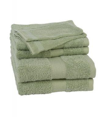 Jules Clarysse 6-delige handdoekenset Talis powder green