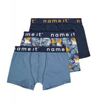 Name It short 3 pack Nkmboxer Leaves J