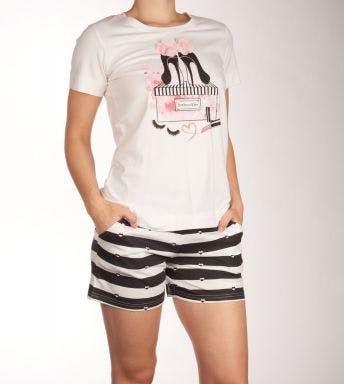 Rebelle pyjama korte broek Mademoiselle D