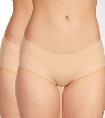 Schiesser slip 2 pack Uncover Panty Invisible D