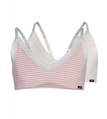 Skiny BH topje 2 pack Crop Top Lacy Everyday M