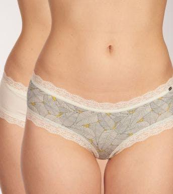 Skiny short 2 pack Romantic Cotton D