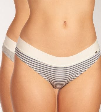 Skiny slip 2 pack Every Day In Cotton Bikini Briefs D