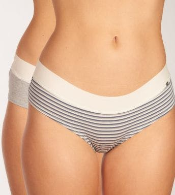 Skiny short 2 pack Every Day In Cotton Panty D