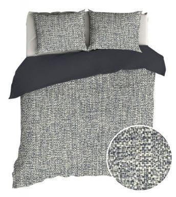 Romanette dekbedovertrek Tweed flanel