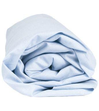 Sleepnight hoeslaken lichtblauw katoen (hoekhoogte 25 cm)