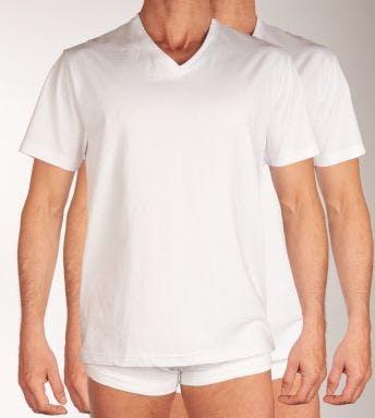 Tom Tailor T-shirt V-hals 2 pack H