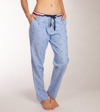 Tommy Hilfiger homewear broek  Woven Pant Embro D