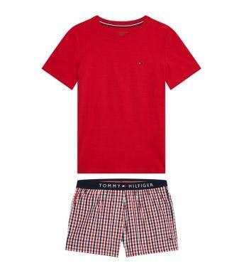 Tommy Hilfiger pyjama korte broek  Short Set J