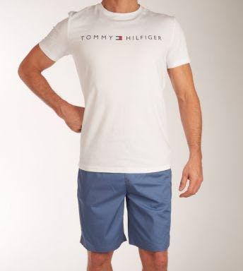 Tommy Hilfiger pyjama korte broek Short Woven Set H