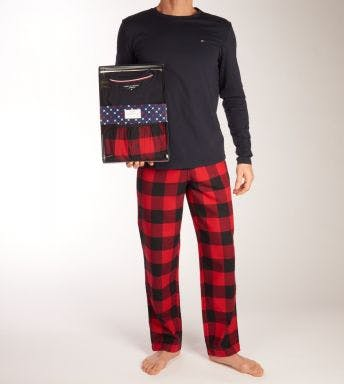 Tommy Hilfiger pyjama lange broek Pant Flannel H