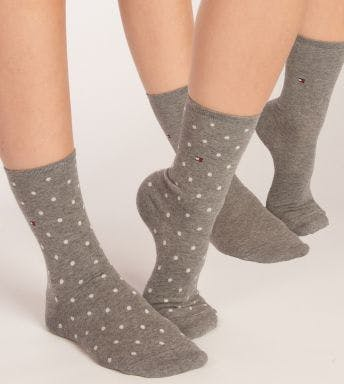 Tommy Hilfiger sokken 2 paar Dot D