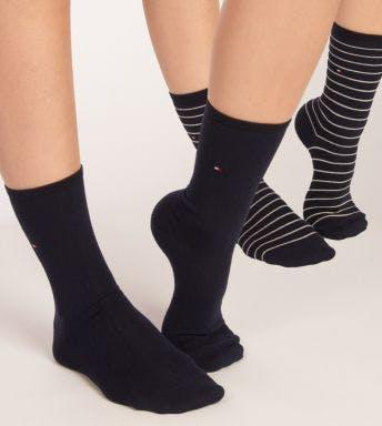 Tommy Hilfiger sokken 2 paar Small Stripe D