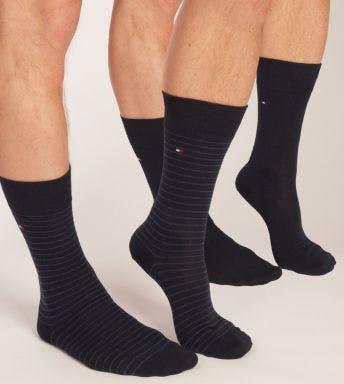 Tommy Hilfiger sokken 2 paar Small Stripe H