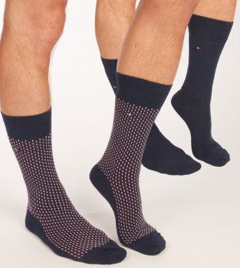 Tommy Hilfiger sokken 2 paar Graphic H