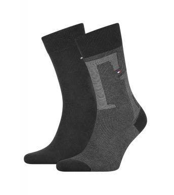 Tommy Hilfiger sokken 2 paar Rib H