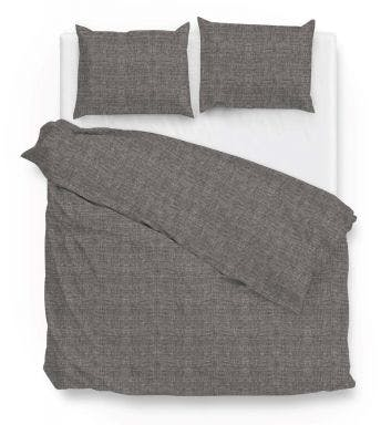 Zo! Home housse de couette Dark Grey Coton